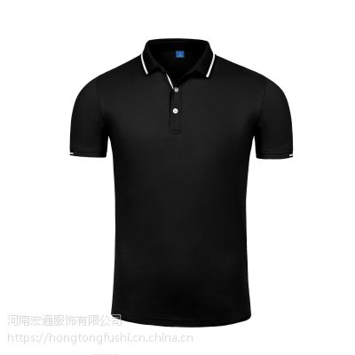河南宏通服饰夏季情侣休闲运动风Polo衫