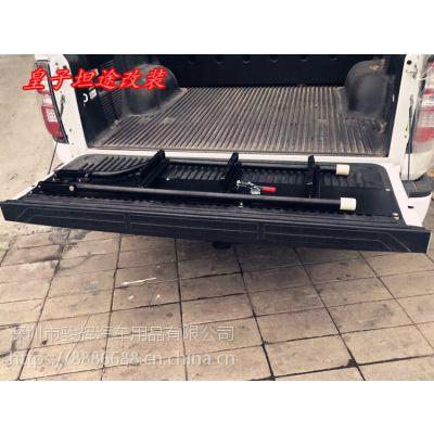 丰田坦途 猛禽F150 公羊皮卡后尾箱爬梯改装坦途后备箱尾门爬梯