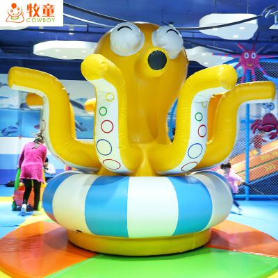 牧童室内儿童乐园价格 贵州海洋淘气堡 新型儿童拓展训练器材厂家 pvc