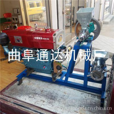 大米膨化食品机械 可移动的玉米膨化机 杂粮膨化机械加工通达