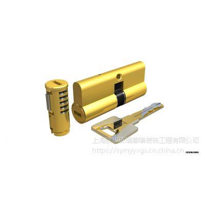 上海杨浦区永和安防盗门维修电话更换把手锁芯