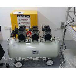 上海虹口劲豹无油空压机型号SLB135排气量450L/MIN气桶容量135L功率2400W空压机
