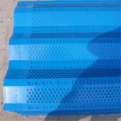 防风网结构图 工地施工防尘网 冲孔网的用途