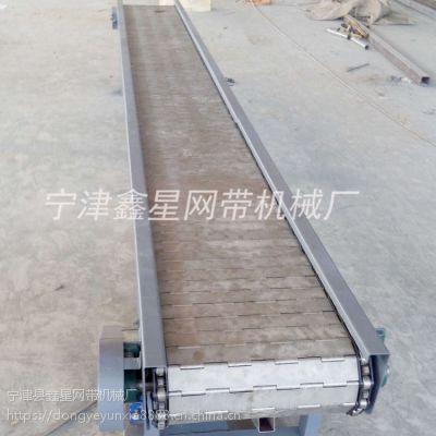 宁津县xx094经济实用饮料贴标链板输送机设备厂家