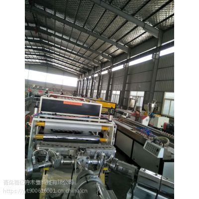 共挤树脂瓦生产线/合成树脂瓦生产设备/琉璃瓦生产线