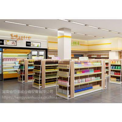 恒缘诚超市货架、便利店货架、零食店货架订制出售