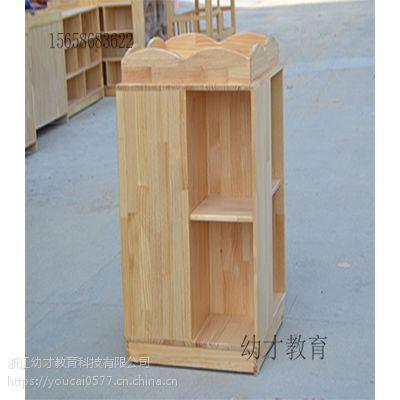 厂家直销幼儿园儿童实木口杯架