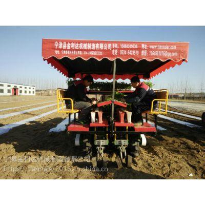 宁津县金利达生产的田耐尔西兰花移栽机,是一种实用的新型移栽机械