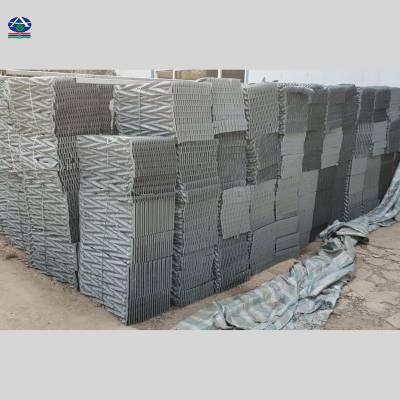 【污水处理】安徽省天长市哪里有卖双斜波淋水填料 PVC/pp 河北华强