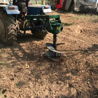栽树种植打坑机 大棚立柱挖坑机