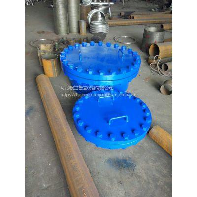 源益厂家制造垂直吊盖式带颈平焊法兰人孔DN500人孔用途