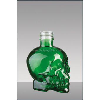 郓城兴达酒类包装公司专业生产玻璃瓶彩釉玻璃瓶_彩色玻璃瓶_喷漆玻璃瓶