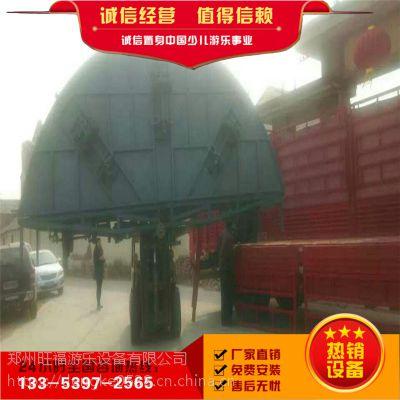 可移动折叠转马设备,郑州厂家定做易拆卸转马,电动旋转木马