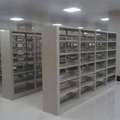 图书馆书架 钢制书架 书架厂家 学校图书架