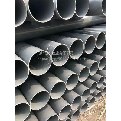 pvc管材125供应价格 灰色专业订做