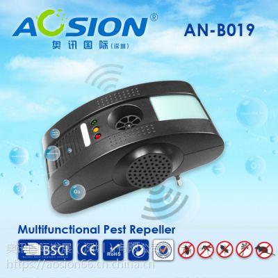 供应多功能驱虫驱鼠器 超声电磁功能 带负离子净化空气B019