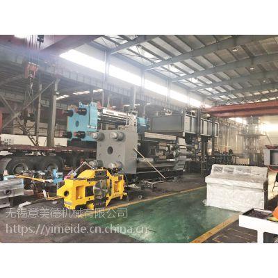 500吨小规格铝型材挤压机生产纱窗料成品率高
