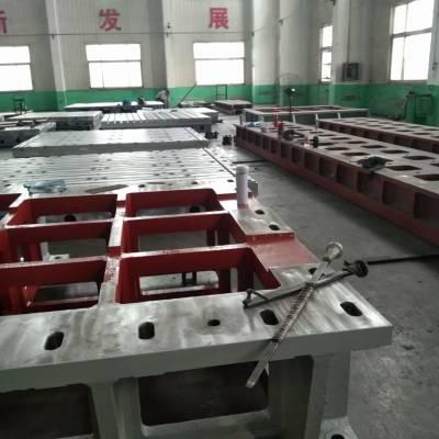 铸铁柔性焊接工装平台安装现场|咨询请联系【鼎旭量具】15716866986