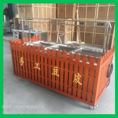 福建腐竹油皮机厂家直销 腐竹机生产线操作视频 新型腐竹机械设备