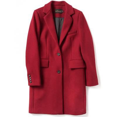 2017韩版女装外贸原单尾货女士毛呢外套呢子大衣低价地摊货批发