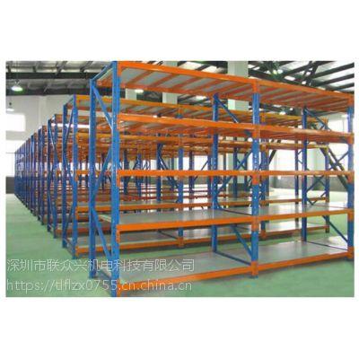深圳松岗轻型货架重型货架厂家定制角钢中型货架(100-500KG货架)
