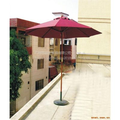 厂家供应品木铝架中柱伞/实木中柱伞