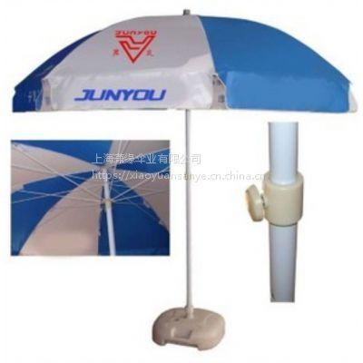 供应1.8米一米八直径外贸沙滩遮阳伞|铝管涤纶布棉帆布沙滩伞制作工厂