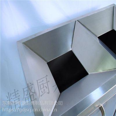 厂家批发酒店餐饮设备超大收纳容量双层餐具回收车酒店厨具工程