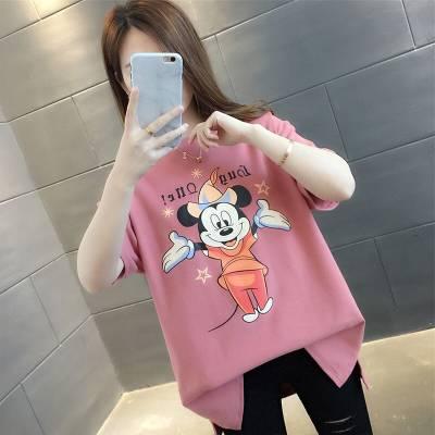 杭州工厂便宜 韩版女式短袖t恤女批发夜市地摊衣服 2019夏季女士t恤