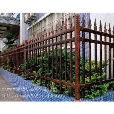 山西Q235HC组装围墙护栏,锌钢弯弧围栏,京式道路防护栏杆,烤漆竹节管篱笆栅栏