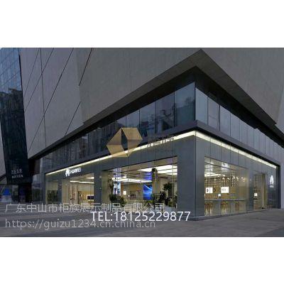 华为3.5体验店装修设计案例 广东新华为展示家具订做厂家
