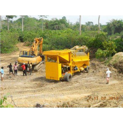 如何使用移动淘金车设备,提取出价值不菲的沙金