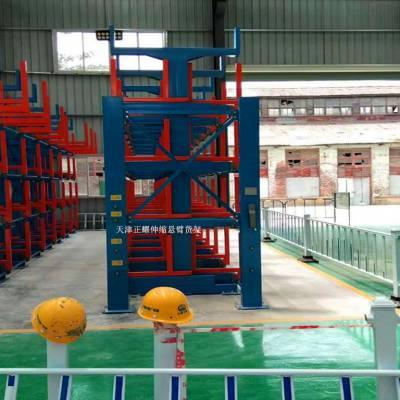 南京管材存放货架 正耀ZYHJ10004 悬臂式 石油管道存放 非标定制 免费设计