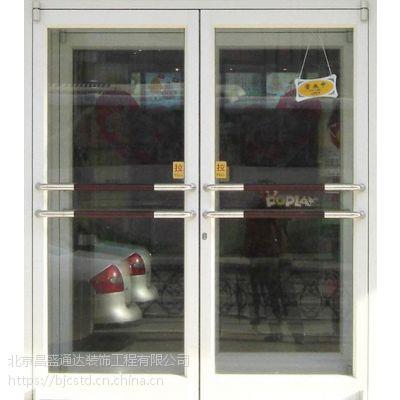 顺义区安装玻璃门顺义区维修玻璃门地弹簧
