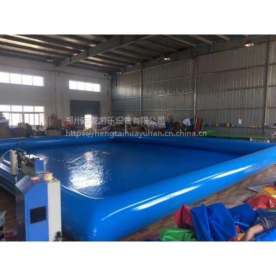 充气水池大型夏季水池 儿童PVC加厚柏拉图水池 成人充气池游泳厂家定制