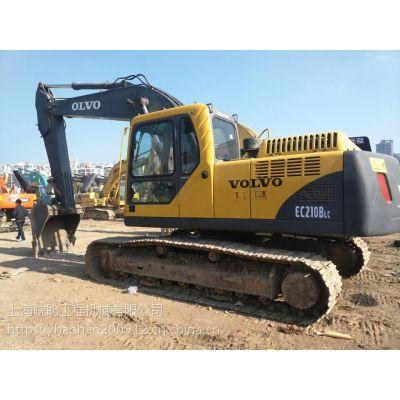 公司推荐-二手沃尔沃挖掘机二手210挖掘机