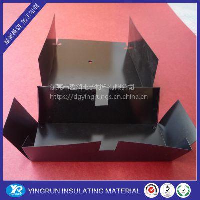 PP薄膜耐电压绝缘片 长期耐温115度绝缘片 折弯加工绝缘材料