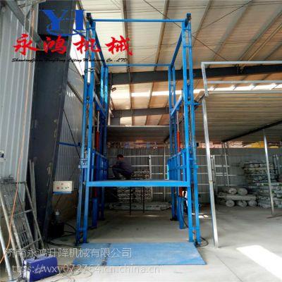 江西鹰潭固定液压升降梯,液压式家用垂直升降货梯多少钱一台