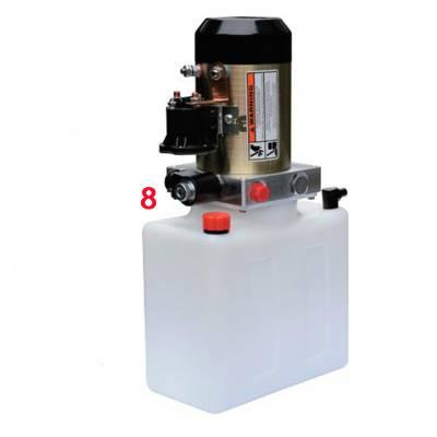 YBZ5-F1.6B1W2堆高车液压动力单元1-SKBTFLUID牌