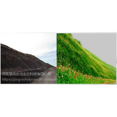 河南景绣客土喷播技术方案 湿法喷播植草 客土喷播养护放心