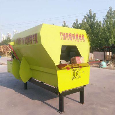 TMR搅拌机 粉碎混合机 日粮搅拌机圣泰制造