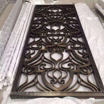 佛山供应高端不锈钢屏风金属花格激光切割加工 制品厂家供应商