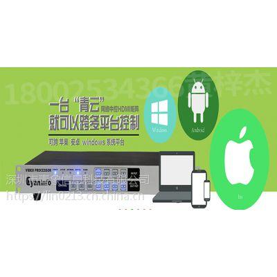 视频矩阵-杭州青云系列网络中控HDMI视频矩阵在视频会议中的作用