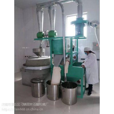 现林全自动芝麻水洗机 带自动上料系统面粉石磨 厂家直销