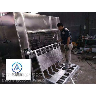 Zy-180型生猪刨毛机腿毛干净效果好厂家现货供应众友机械