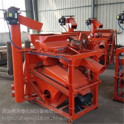 郑州花生果剥壳机一小时可以剥多少斤花生种子脱壳机厂家