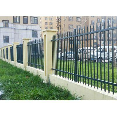 围墙护栏-双横梁-锌钢护栏