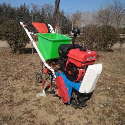 精品推荐手扶式耘播机农用施肥播种机果园除草松土机