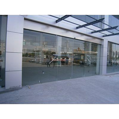 天河盖泽自动门,玻璃自动感应门维修18027235186