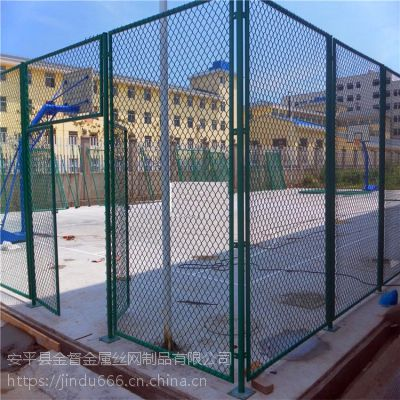 长期销售 球场体育场护栏 养鸡用勾花围栏网 边坡绿化铁丝网 动物园养殖围栏网